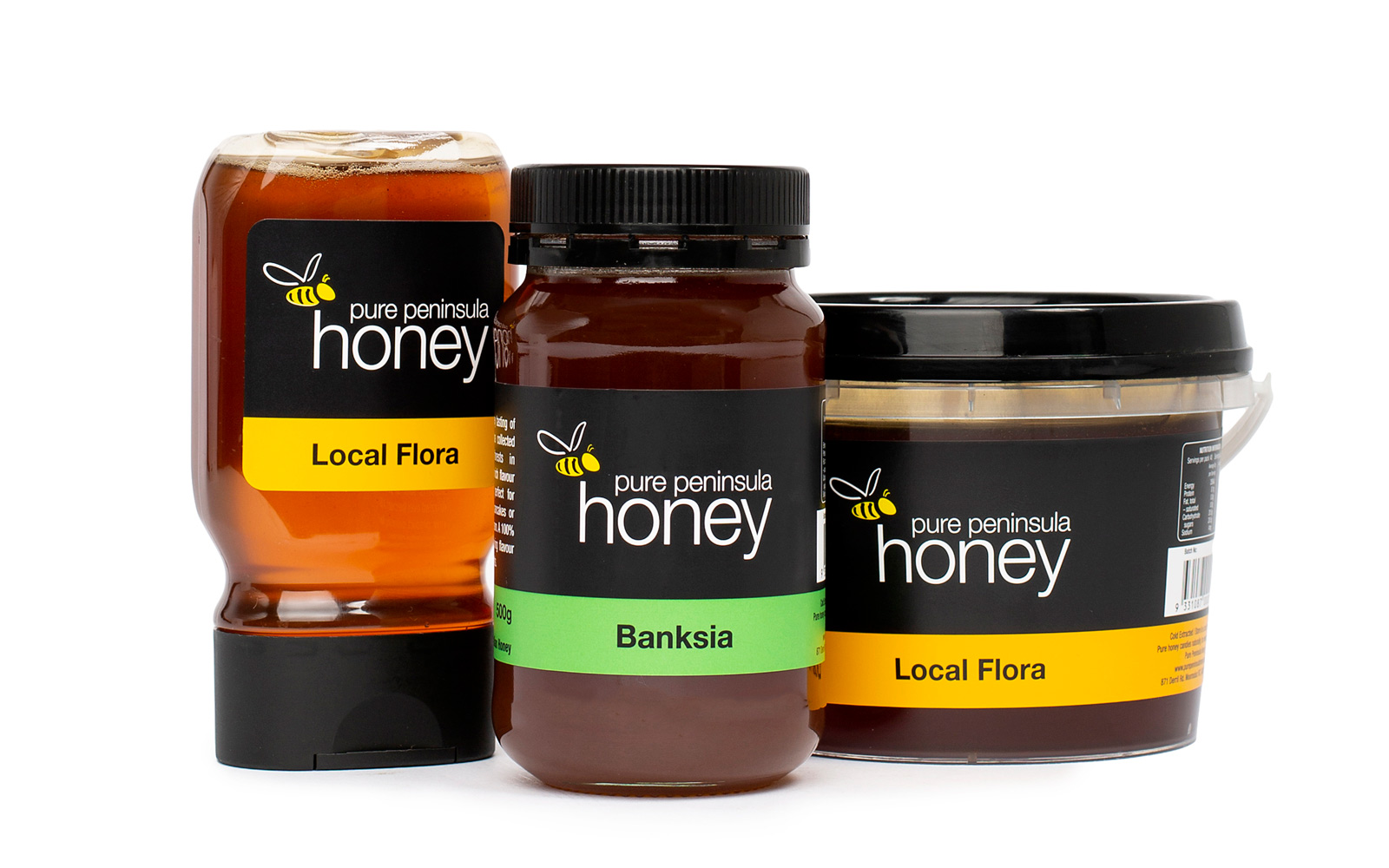 Honey Jar FMCG Product Label by Peacock Bros