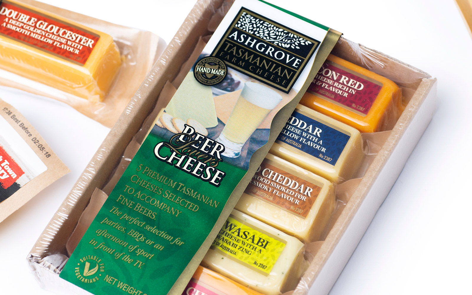 Cheese Package FMCG Product Label by Peacock Bros
