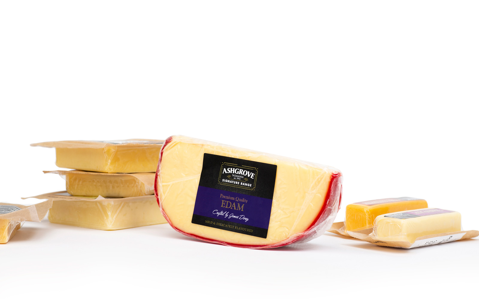 Cheese FMCG Product Label by Peacock Bros